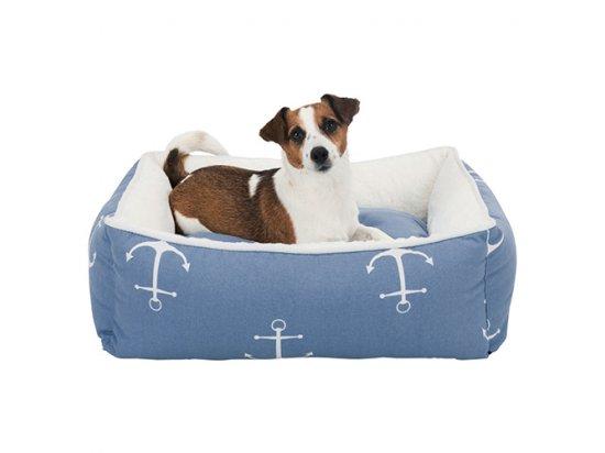 Trixie ANCHOR спальное место для собак и кошек БЕЛЫЙ / ГОЛУБОЙ