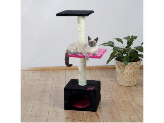 Trixie Badalona Когтеточка домик для кошек (43457) цвет фуксия/черный