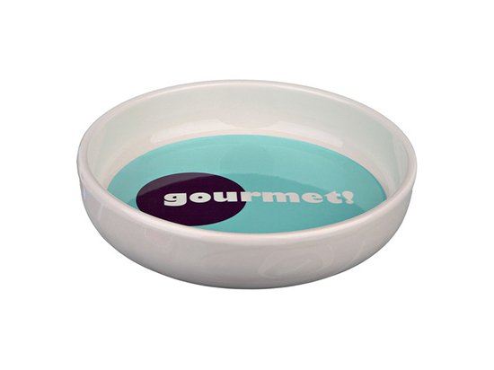 Trixie Ceramic Bowl for short-nosed Breeds - Миска керамическая для коротконосых собак