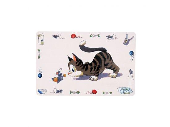 Trixie COMICAL CAT - коврик под миски для кошек (24544)