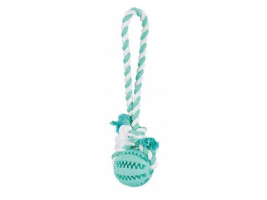 Trixie (Трикси) DENTAFUN (МЯЧ НА КАНАТЕ) игрушка для собак, резина (3299)