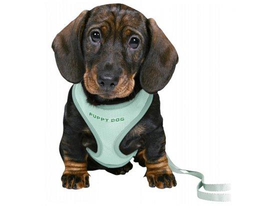 Trixie JUNIOR PUPPY SOFT HARNESS WITH LEASH шлейка с поводком для щенков, нейлон