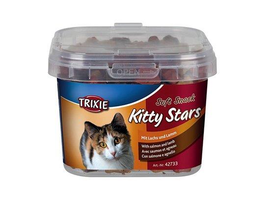 Trixie Kitty Stars - лакомство для кошек с лососем и ягненком