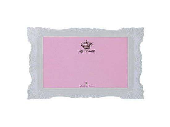 Trixie My Princess - Пластиковый коврик под миски розовый (24785)