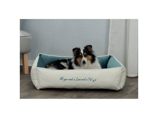 Trixie PETS HOME спальное место для собак и кошек КРЕМ / БИРЮЗА