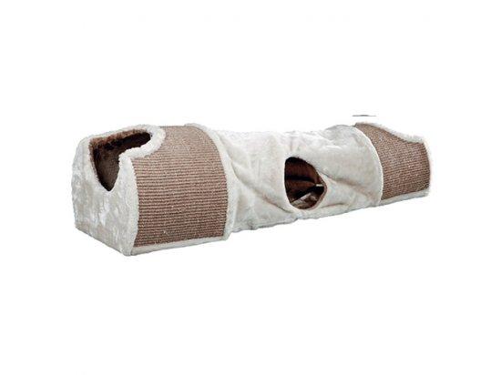 Trixie SCRATCHING TUNNEL драпак-тоннель для кошек, плюш (43004)