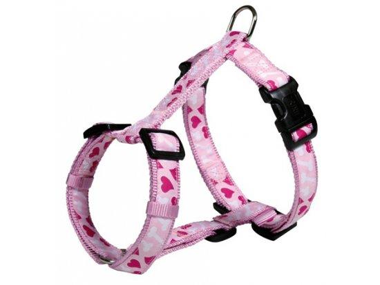 Trixie (Трикси) MODERN ART (МОДЕРН АРТ СЕРДЕЧКИ) шлея для собак, розовая