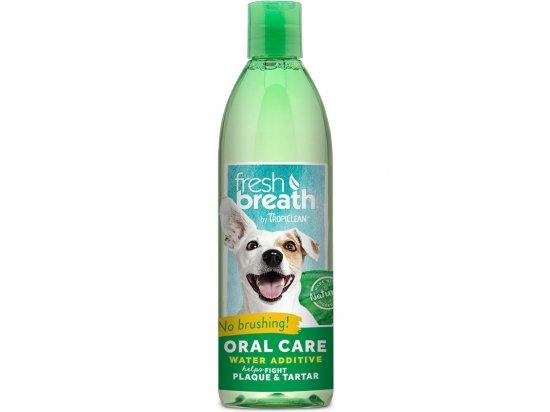 Tropiclean FRESH BREATH (СВЕЖЕЕ ДЫХАНИЕ) добавка в воду для собак и котов, 473 мл