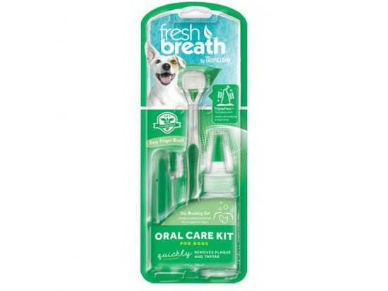 Tropiclean Oral Care Kit Набор для ухода за ротовой полостью для собак