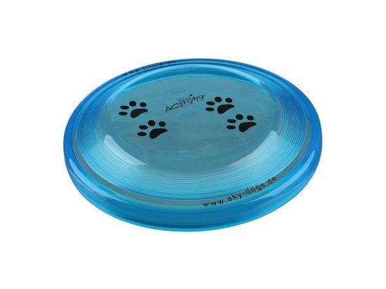 Trixie ДИСК ФРИСБИ игрушка для собак, мягкий пластик