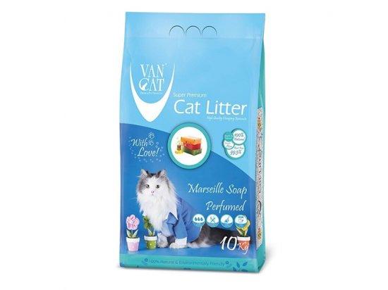 Van Cat (Ван Кет) MARSEILLE SOAP (МАРСЕЛЬСКОЕ МЫЛО КОМКУЮЩИЙСЯ) бентонитовый наполнитель для котов