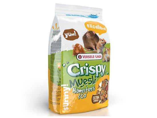 Versele-Laga (Верселе-Лага) CRISPY MUESLI HAMSTER (КРИСПИ МЮСЛИ ХОМЯК) корм для хомяков, крыс, мышей и песчанок