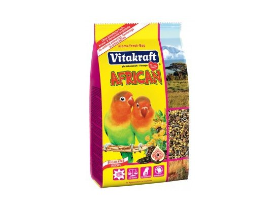 Vitakraft (Витакрафт) African Корм для средних африканских попугаев, 750 г