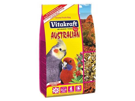 Vitakraft (Витакрафт) Australian корм для австралийских попугаев крупных и средних видов, 750 г