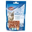 Trixie MINI  NUGGETS лакомство для кошек (курица/тунец/кошачья мята), 50 г (42741)