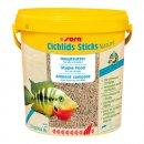 SERA Cichlids Sticks Nature Палочки для цихлид, корм для аквариумных рыб