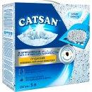Catsan (Кетсан) AKTIVE FRESH  комкующийся наполнитель с активированным углем для кошачьих туалетов, 5 л