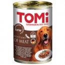 TOMi 5 kinds of meat консервы для собак - кусочки в соусе, 5 видов мяса