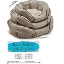 Pet Fashion Спальное место для собак КАНТРИ лен