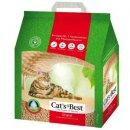 Cats Best ORIGINAL древесный КОМКУЮЩИЙСЯ наполнитель для кошек (мелкая гранула)