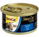 Gimcat Shiny Cat in jelly (ТУНЕЦ В ЖЕЛЕ) консервы для кошек 70 г