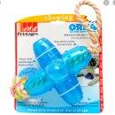 PETSTAGES Orka Jack with rope - Oрка Джек большая с канатиком - игрушка для собак, длина 15 см