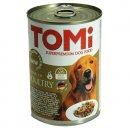 TOMi 3 kinds of poultry консервы для собак - кусочки в соусе, 3 вида птицы