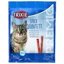 Trixie (Трикси) QUINTETT STICKS (ПАЛОЧКИ ЛОСОСЬ И ФОРЕЛЬ) лакомство для кошек