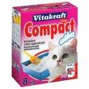 Vitakraft COMPACT Ultra - комкующийся наполнитель для кошачьего туалета