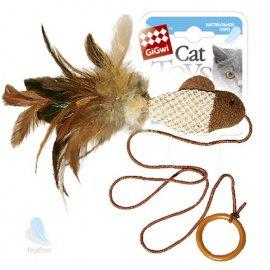 GiGwi (Гигви) Teaser ДРАЗНИЛКА-РЫБКА игрушка для котов на палец, 7 см