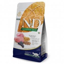 Farmina (Фармина) N&D Low Grain Lamb & Blueberry Adult корм для взрослых кошек ЯГНЕНОК и ЧЕРНИКА