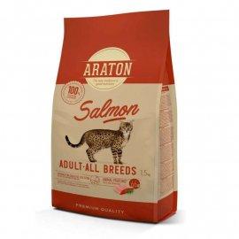 Araton (Аратон) ADULT ALL BREEDS SALMON сухой корм для взрослых кошек ЛОСОСЬ