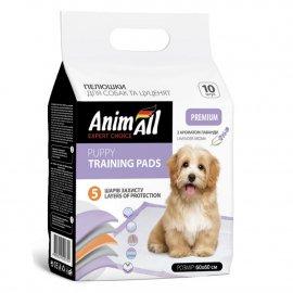 AnimAll одноразовые пеленки для собак и щенков с ароматом лаванды, 60 х 60 см