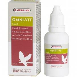 Versele-Laga Oropharma (Орофарма) Omni-Vit Liquid ОМНИ-ВИТ жидкие витамины для кондиции птиц