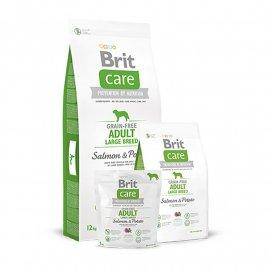 Brit Care Grain-free Adult Large Breed Salmon & Potato Беззерновой корм для взрослых собак крупных пород с лососем и картофелем