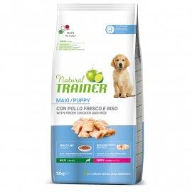 Trainer Natural Puppy Maxi - корм для щенков крупных и гигантских пород с курицей и индейкой