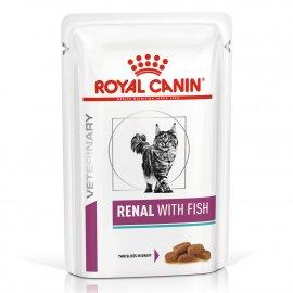 Royal Canin RENAL FISH лечебные консервы для кошек c почечной недостаточностью (рыба)