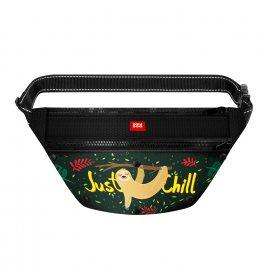 WAUDOG сумка-бананка поясная для корма и аксессуаров ЛЕНИВЕЦ