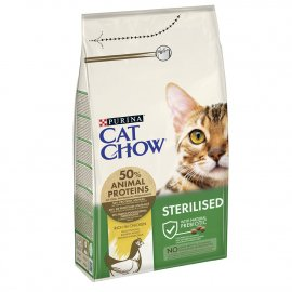 Cat Chow (Кет Чау) Sterilized (СТЕРИЛИЗЕД) корм для стерилизованных кошек