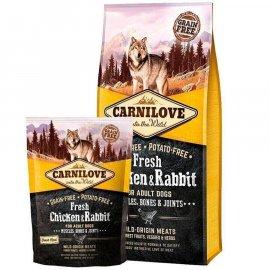 Carnilove FRESH CHICKEN & RABBIT корм для собак КУРИЦА и КРОЛИК