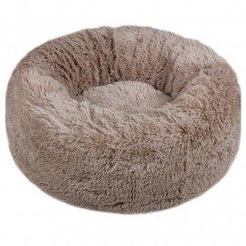 Red Point DONUT лежак со съемной подушкой для собак и кошек ПОНЧИК, капуччино