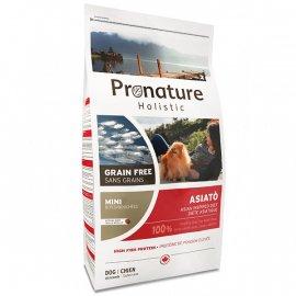 Pronature Holistic (Пронатюр Холистик) ASIATO SMALL BITES беззерновой корм для собак мини и малых пород РЫБА СИГ И ПАПАЙЯ