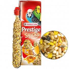 Versele-Laga (Верселе-Лага) Prestige STICKS BUDGIES HONEY лакомство для волнистых попугаев, МЕД 60 г (2 шт.)