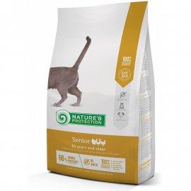 Natures Protection (Нейчез Протекшин) SENIOR корм для пожилых котов