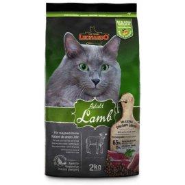 Leonardo (Леонардо) Adult Lamb корм для взрослых кошек ЯГНЕНОК