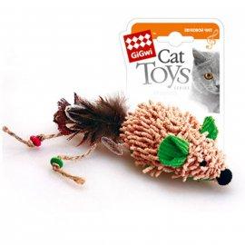 GiGwi (Гигви) Melody Chaser МЫШЬ игрушка для котов с электронным чипом, 7 см