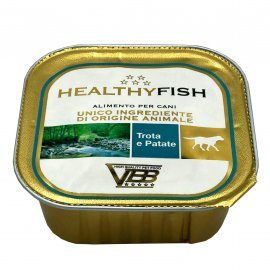 Healthy Fish TROUT & POTATOES влажный корм для собак ФОРЕЛЬ и КАРТОФЕЛЬ, паштет