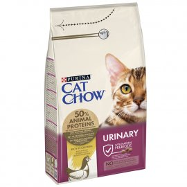 Cat Chow (Кет Чау) Urinary Tract Health (УРИНАРИ) корм для кошек для профилактики мочекаменной болезни