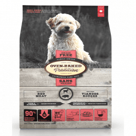 Oven-Baked Tradition GF SMALL BREED беззерновой корм для собак малых пород ИЗ КРАСНОГО МЯСА