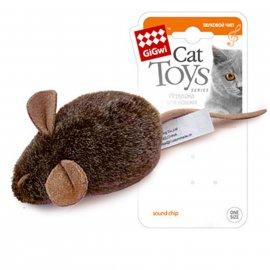 GiGwi (Гигви) Melody Chaser МЫШКА игрушка для котов с электронным чипом, 15 см